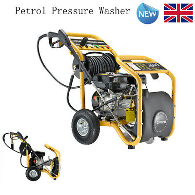 4 Stroke Petrol Power Pressure Washer 3950PSI 8.0HP Engine Commercial Hose