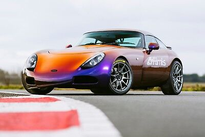 50% Off - 14 Lap Tvr T350C Driving Experience - Gift Voucher Present Track Day