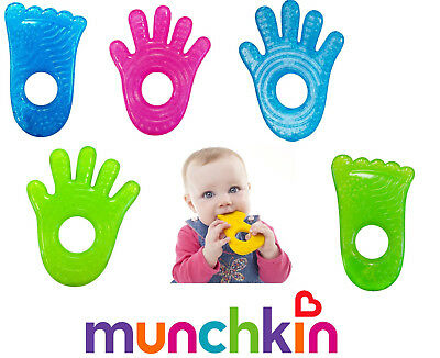 Baby Teethe Teether Fun Ice Gel Chewy Chill Toy Munchkin BPA Free
