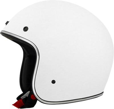 Afx Helm Helmet Fx 76 Solid Open Face White L