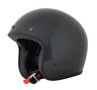 Afx Helm Fx-76 Solid Vintage Jet Helmet Small Magnetic Small