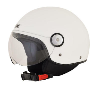 Afx Helm Fx-33 Solid Scooter Helmet X-Small Pearl White X-Small