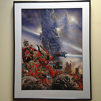 Geoff Taylor World Eaters Space Marines Illustration