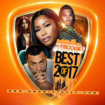 Dj Ty Boogie - Best Of 2017 (Mix Cd) Hip-Hop, R&b And Blends