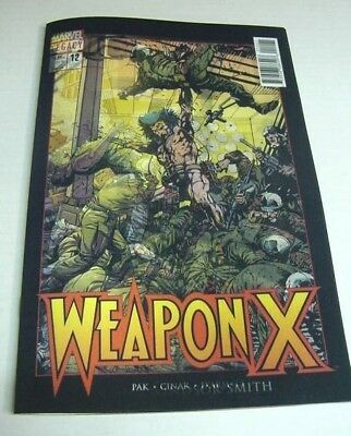 Weapon X #12 Marvel Legacy Homage To Wolverine 3D Lenticular Variant $3 Shipping