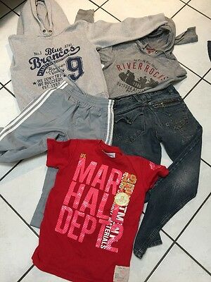 Lot Garcon 8.10 Ans Jeans  Haut R.a.r. Adidas Us Marshall Sweat H&m
