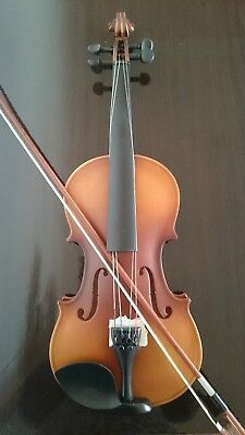 Acoustic Violin Full Size Maple Spruce with Case Bow Rosin Student Classical