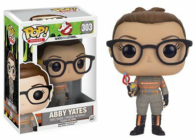 Ghostbusters Abby Yates Pop Movies Vinyl Figure Funko New Vaulted