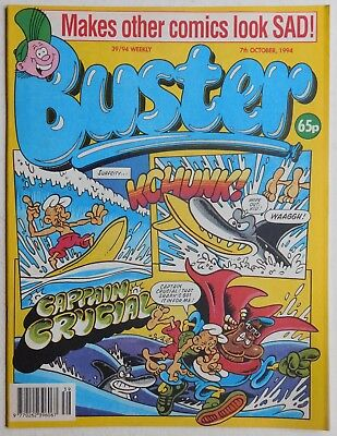 BUSTER COMIC - 7th October 1994