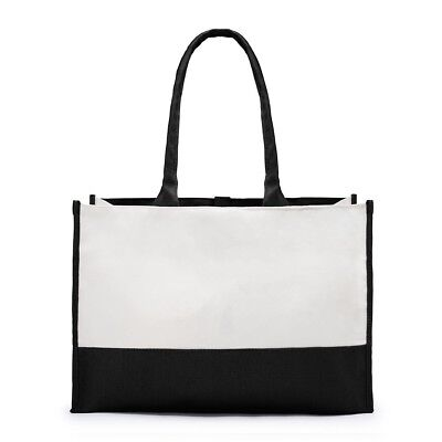 Premium Tote Bag Two Tone Canvas
