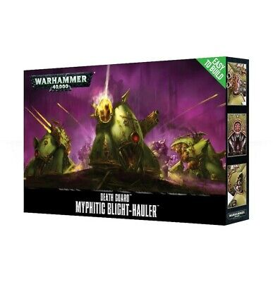 Easy To Build Death Guard Myphitic Blight-Hauler Games Workshop Warhammer New