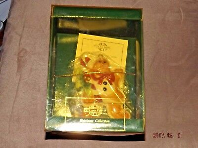 Retired Fitz and Floyd Heirloom Collect. Sugarplum Ornament Gingerbread Man NIB