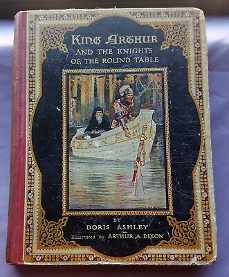 ca20 King Arthur & The Knights of the Round Table Dixon D.Ashley Raphael Tuck