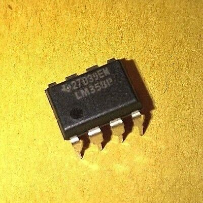 LM358P TEXAS INSTRUMENTS 8 PIN IC   AMPLIFICATORE ANALOGICO     3Pz