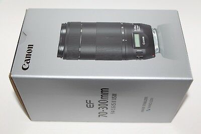 GENUINE Canon EF 70-300mm F/4-5.6 II IS USM DSLR CAMERA LENS SHIPS SAME DAY NEW