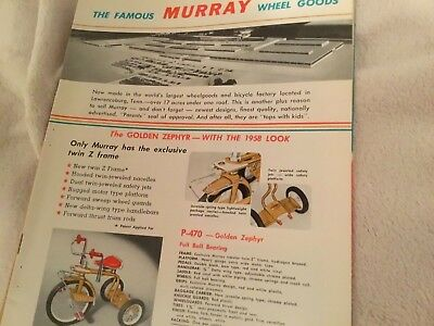 1958 ANTIQUE Murray Pedal Car Deluxe Tractor,Trikes Wagons (Collectors item)