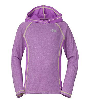 The North Face Girl's Long Sleeve Reactor Hoodie Jacket CB7DZA5 CB7DELD NWT NEw