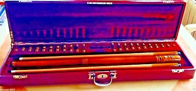 Collectible Billiard Cue Adorjan Spanish Royal Family 1930 Gold Coat Of Arms