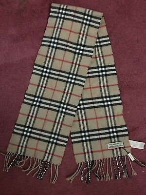 Children's Burberry Scarf