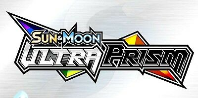 Sun & Moon: Ultra Prism Booster Code Cards - Pokemon Online TCG 1x-25x Preorder