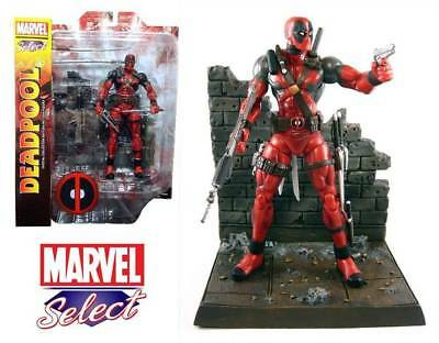 Marvel Select Deadpool Af Re-Run Action Figure Select Toys 20 cm