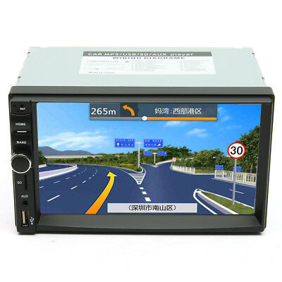7 Inch Touch Screen 2 Din Car 1080P Radio Auto FM Aux/AUX/SD/MP5 Bluetooth And
