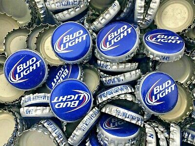 100 ((Private Stock)) [Uncrimped] beer bottle Caps NO DENTS. Free Shipping.
