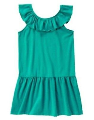 NWT Gymboree Girls Mermaid Party Green Ruffle Dress Size 4