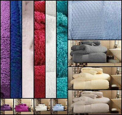 Egyptian Cotton Luxury Hotel Collection Super Soft Towel 600GSM 100%  All Sizes