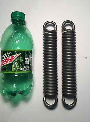 ".250"" Wire Heavy Duty Extension Spring Lots Of 2"