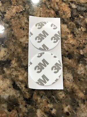 """2 Replacement Sticky Pads For Popsockets And Popsocket Pops 1 1/4"""" Double Sided"""
