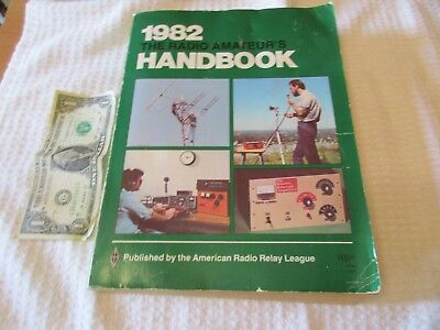 1982 ARRL Radio Amateurs Handbook for Ham Radios in good shape