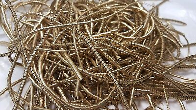 Brass Shavings 10  Oz.100% Clean Dry Filings,Turnings,Chips, Science Orgone Art.