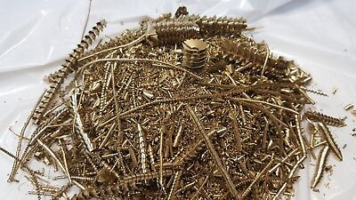 Brass Shavings 15 Oz.100% Clean Dry Filings,Turnings,Chips, Science Orgone Art.