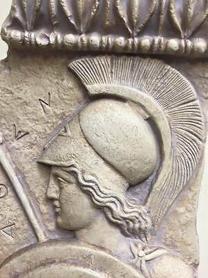 Vintage Alexander the Great Was a Greek Military Leader Relief/Plaque Last One