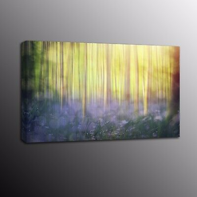 Landscape Canvas Print Poster Forest Painting Canvas Wall Art Picture Home Decor