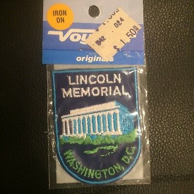 Vintage Patch Lincoln Memorial