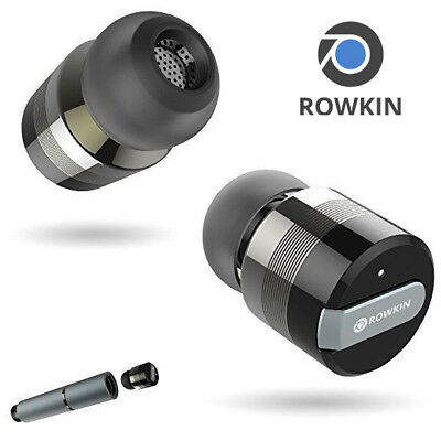 Rowkin Bit Stereo True Wireless Earbuds with Charging Case Bluetooth Headphones