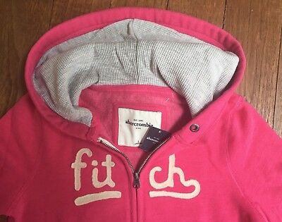abercrombie & fitch kids - Maedchen Hoodie in pink - Groesse L