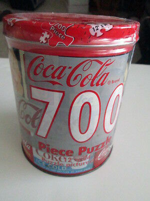 Coke Tin with 700 piece Puzzle...Shop Refreshed