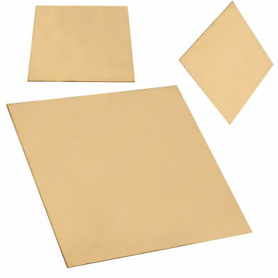 1PC NEW Brass Metal Sheet Plate 1mm x 100mm x 100mm for Metalworking Craft DIY