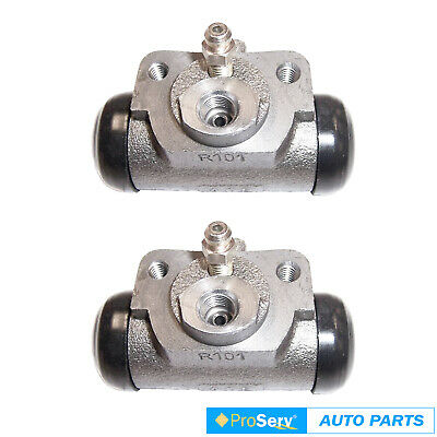 2 Rear wheel brake cylinders for Holden Monaro HQ 4.1L 253 LC V8 2WD Coupe 1971-