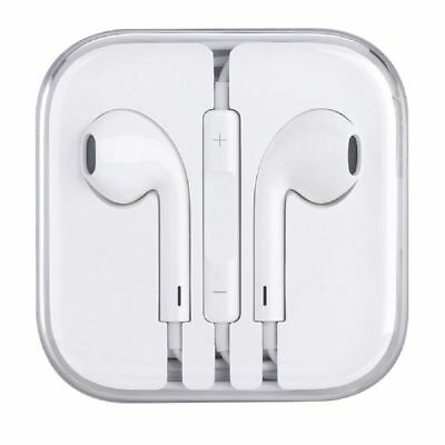 In-Ear White Headphone Earphone Volume Control Mic for iPhone 6 6S Plus 5 5S