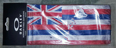 "LIMITED EDITION Oakley Hawaii/Hawaiian Flag ""Microbag"" cleaning/storage bag NEW!"