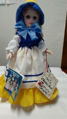 """Effembee Doll, Tales Of Mother Goose 12"""",character,collectible,dolls,bears,new"""