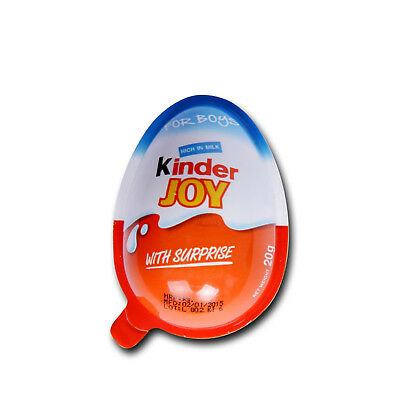 Kinder Joy Surprise Eggs Toys Chocolate Kids Fun For Boys & Girls