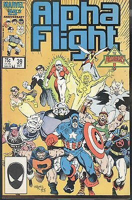 Marvel Alpha Flight 39 Oct 1986 Invasion Of Atlantis Mantlo