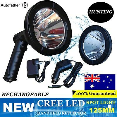 980W CREE T6 Handheld Spot Light Rechargeable LED Spotlight Hunting Shooting 12V