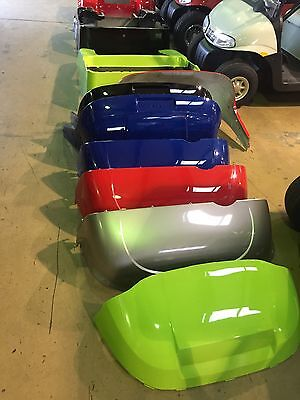 Any One Color paint job on a EZ GO TXT or RXV Golf Cart Body.