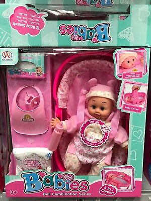 104A Baby Doll Soft Bodied Baby Dolls Fashion Dolls With Sound And Accessories